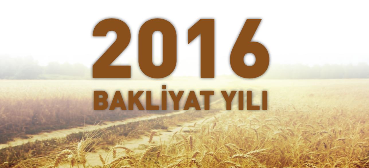 2016 Bakliyat Yılı