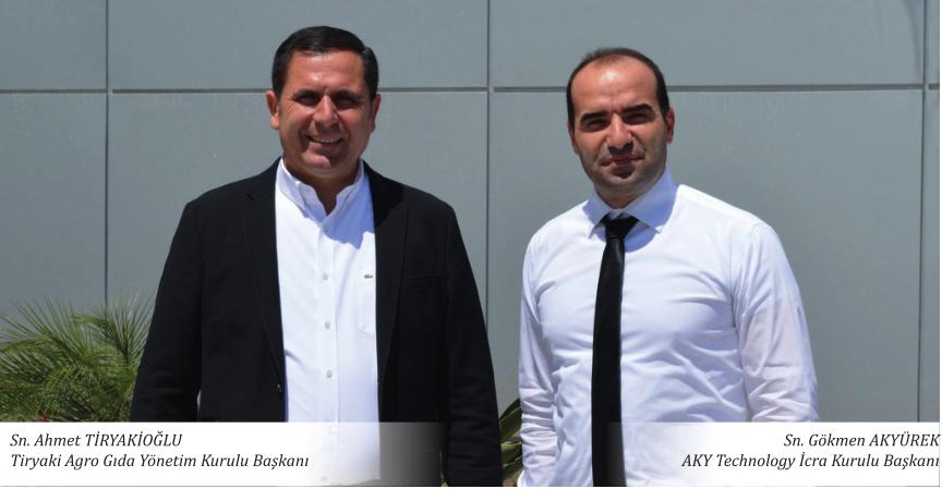 AKY Technology Ahmet TİRYAKİOĞLU'nu Ağırladı