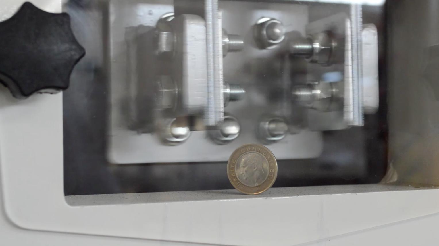 Aky Technology'nin Eleme Makineleri Madeni Para Testini Geçti