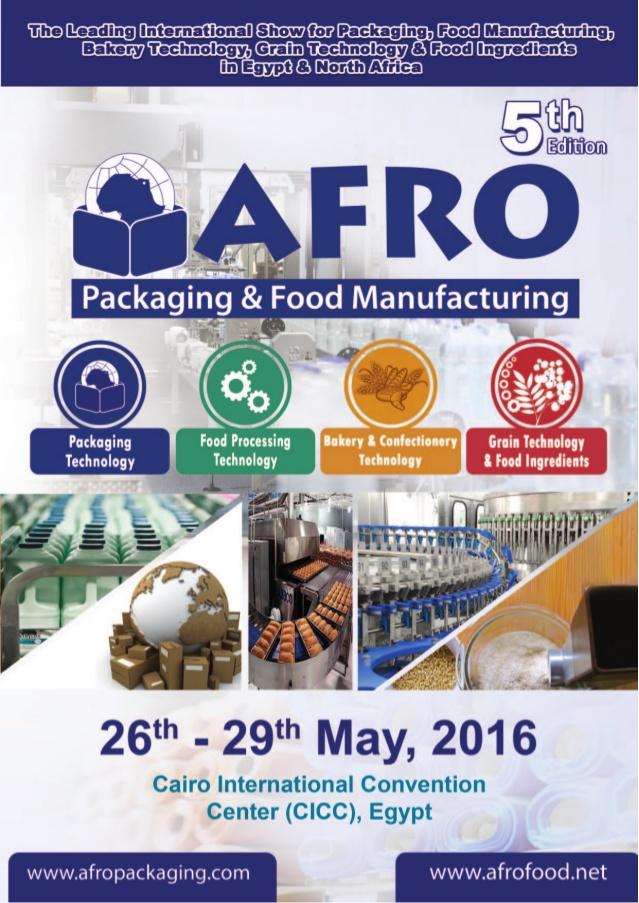 Afro Packaging& Food Exhibition Mayıs Ayında Düzenleniyor.
