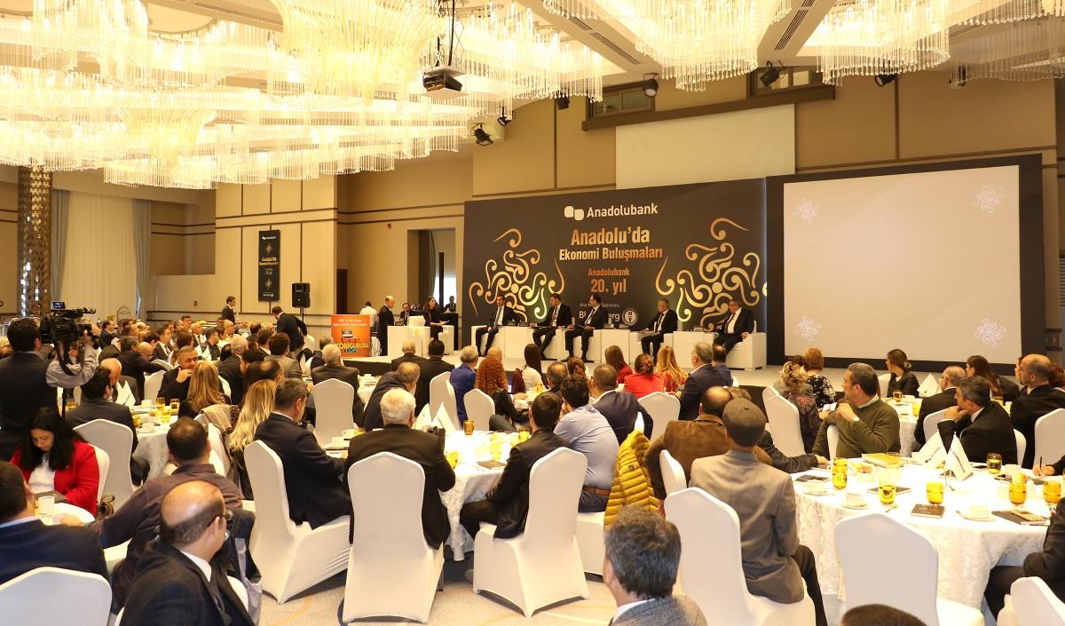 Anadolu'da Ekonomi Buluşmalarının 4. durağı Mersin