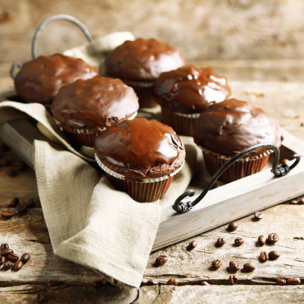 Fasulyeli Çikolatalı Cupcake